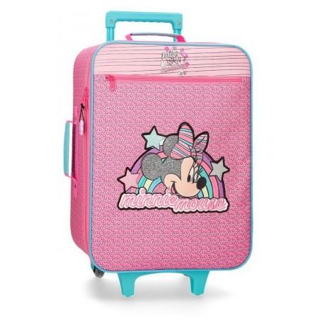 Maleta cabina Minnie Pink Vibes