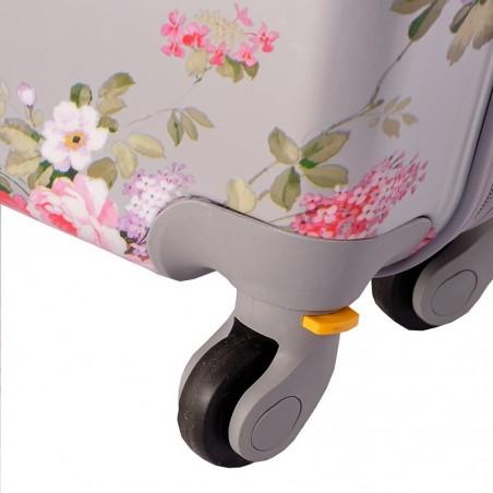 Pack maleta cabina y neceser Bouquet Plata