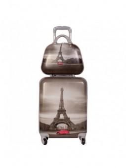 Juego de Maleta y neceser New Paris Low Cost