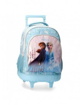 Mochila con ruedas Disney True to Myself Frozen