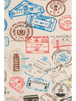 Maleta grande y neceser Pasaportes