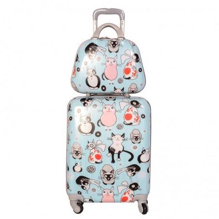 Pack maleta cabina y neceser Gatuna