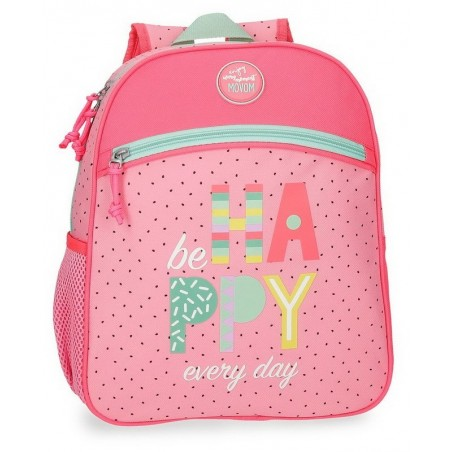 Mochila mediana adaptable Movom Be Happy