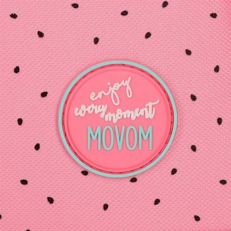 Mochila mediana adaptable Movom Be Happy
