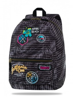 Mochila Coolpack Parches Surfing Black