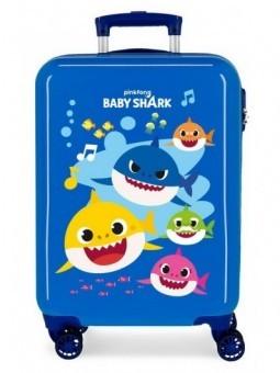 Maleta cabina Baby Shark Ocean Sharks