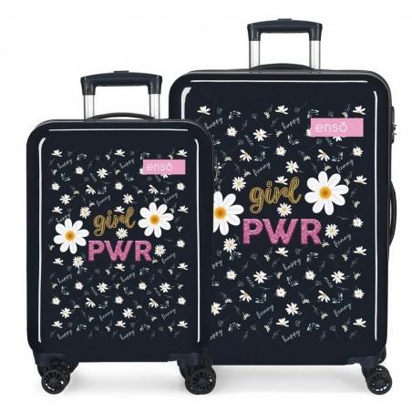 Juego de maletas Enso Girl Power