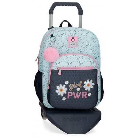 Mochila mediana con carro Enso Girl Power