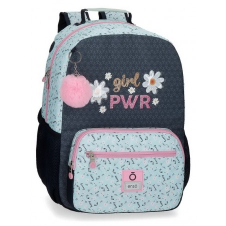 Mochila grande adaptable Enso Girl Power