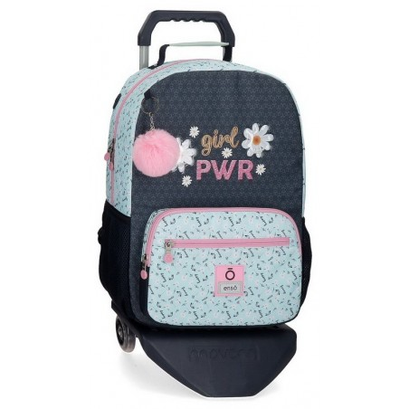 Mochila grande con carro Enso Girl Power