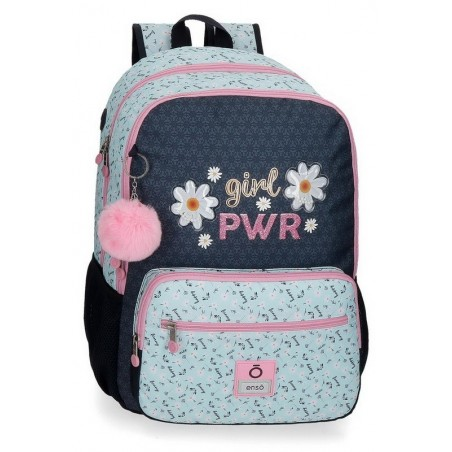 Mochila doble adaptable Enso Girl Power