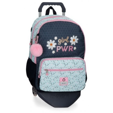 Mochila doble con carro Enso Girl Power