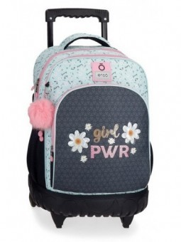 Mochila con ruedas Enso Girl Power