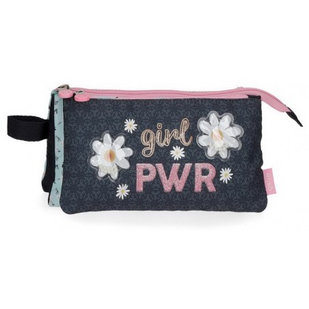 Estuche neceser plano Enso Girl Power