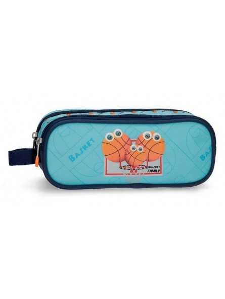 Estuche neceser doble Enso Basket Family