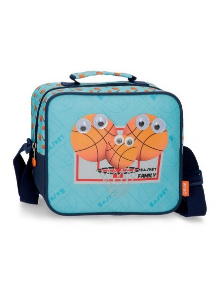 Neceser con bandolera Enso Basket Family
