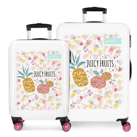 Juego de maletas Enso Juicy Fruits