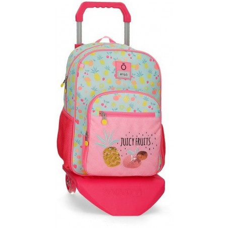 Mochila mediana con carro Enso Juicy Fruits
