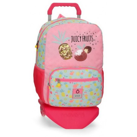 Mochila grande con carro Enso Juicy Fruits