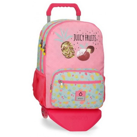Mochila doble con carro Enso Juicy Fruits