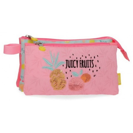 Estuche neceser plano Enso Juicy Fruits