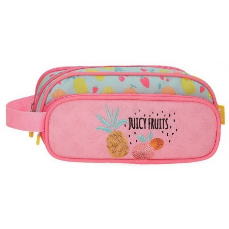 Estuche neceser triple Enso Juicy Fruits