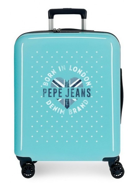Maleta cabina TSA Pepe Jeans Emory Stars