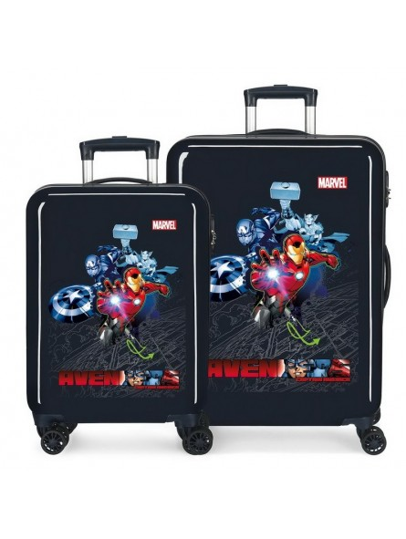 Juego de maletas Marvel Avengers Armour Up