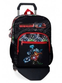 Mochila grande con carro Marvel Avengers Armour Up