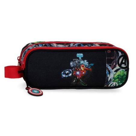 Estuche neceser doble Marvel Avengers Armour Up