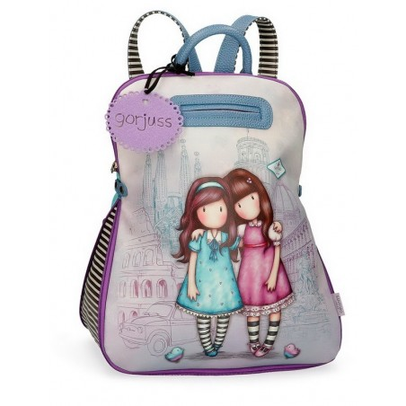 Mochila casual grande Gorjuss Friends Walk Together