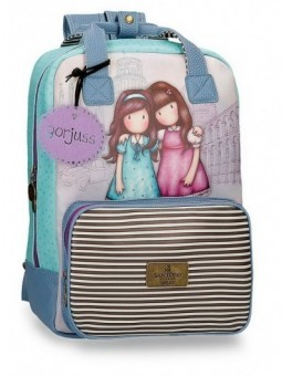 "Mochila portaordenador 15,6"" Gorjuss Friends Walk Together"