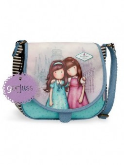 Bolso con solapa Gorjuss Friends Walk Together