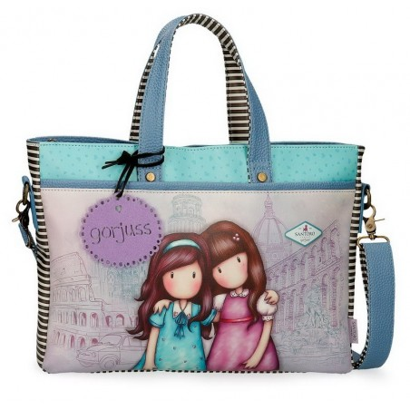 "Bolso portaordenador 14"" Gorjuss Friends Walk Together"