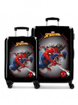 Juego de maletas Marvel Spiderman Red