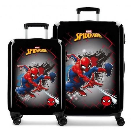 Juego de maletas Marvel Spiderman Red
