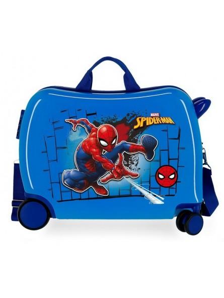 Maleta correpasillos Marvel Spiderman Red