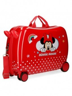 Maleta correspasillos Disney Minnie Rainbow