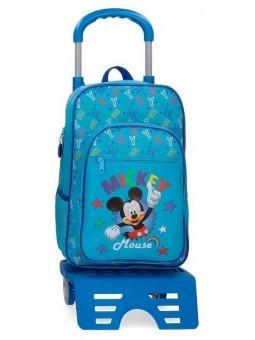 Mochila con carro Disney Mickey Stars