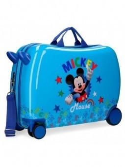 Maleta correpasillos Disney Mickey Stars