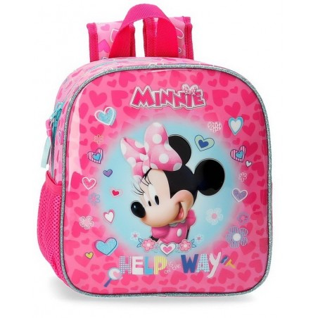 Mochila de paseo Disney Minnie Help on the day