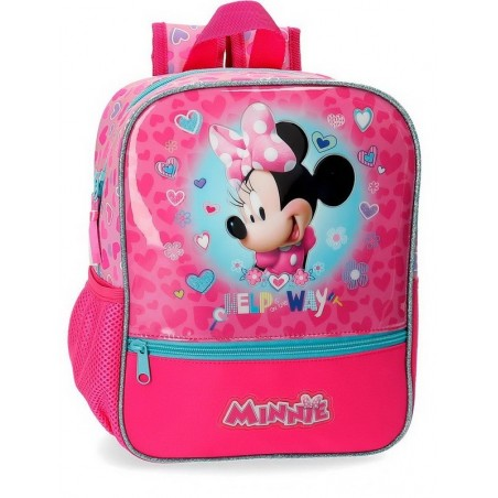 Mochila pequeña adaptable Disney Minnie Help on the day