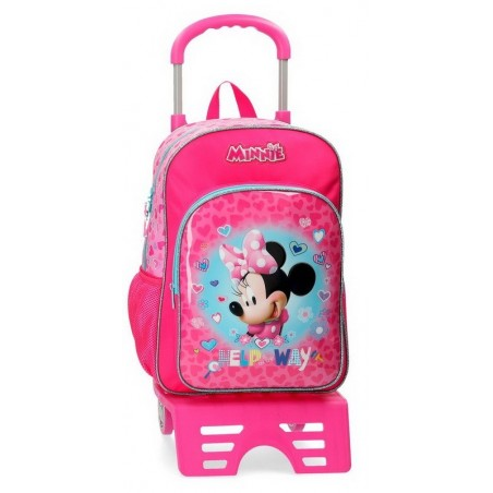 Mochila con carro Disney Minnie Help on the day