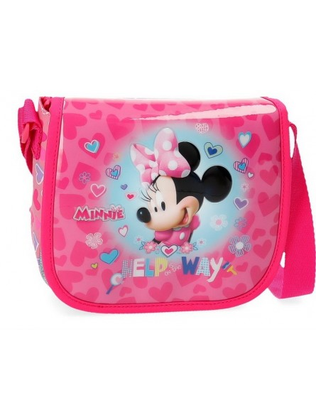 Bolso con solapa Disney Minnie Help on the day