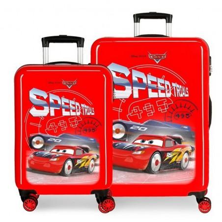 Juego de maletas Disney Cars Speed Trials