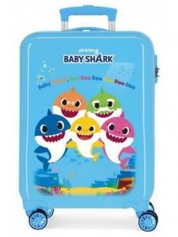 Maleta cabina Baby Shark Family