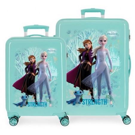 Juego de maletas Disney Frozen Find Your Strenght