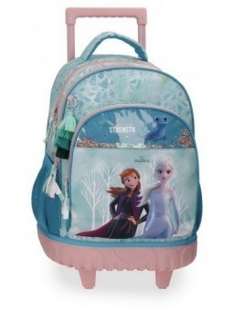 Mochila doble con ruedas Disney Frozen Find Your Strenght