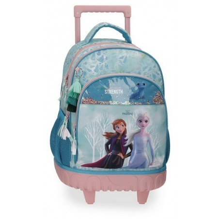Mochila doble con carro Disney Frozen Find Your Strenght