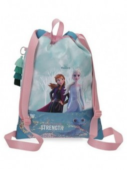 Mochila saco Disney Frozen Find Your Strenght